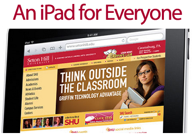 Seton Hill University Griffin Technology Advantage iPad Implementation