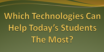 Image of question, which education technologies matter most