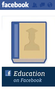 Facebook page about Education resources in Facebook