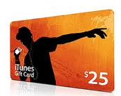 Apple iTunes Gift Card Picture