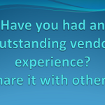 In Praise of Vendor Excellence