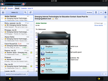 Our Pad iPad app for sharing user accounts