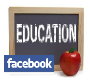 Facebook in education graphic