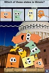 Stack the States iPad app (suggested for home schooling)