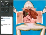 frog dissection iPad app (suggested for home schooling)