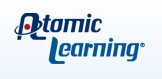 Atomic Learning logo (links to study by SEG Measurement showing impact of Atomic Learning use on Student Achievement)