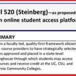 CA Bill Mandates Credit for Online MOOC-style Courses to Fill Gaps in Availability