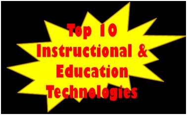 Top 10 Education Instructional Technologies