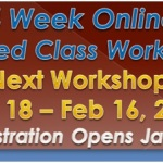Registration is Open for the Next 4 Week Flipped Classroom Online Workshop