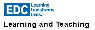 EDC learning teaching logo