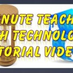 3 Minute Teaching With Tech Tutorial – Using TedEd for Flipped or Blended Learning Lessons