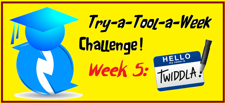 Tool-A-Week edtech teacher challenge