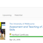 My Coursera Experience – Quality Professional Development, and an Inexpensive Verified Certificate