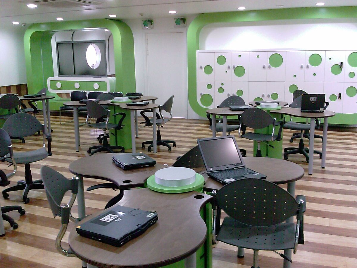 Collaborative-Flexible-Elearnroom