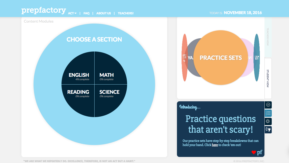 PrepFactory: Making Powerful Test Prep Available to Everyone (it\'s ...
