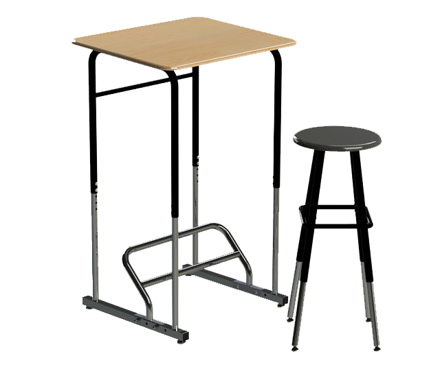 take a stand for creativity students and standing desks emerging rh emergingedtech com student standing desk conversion kit Standing Desks Kinesthetic Student