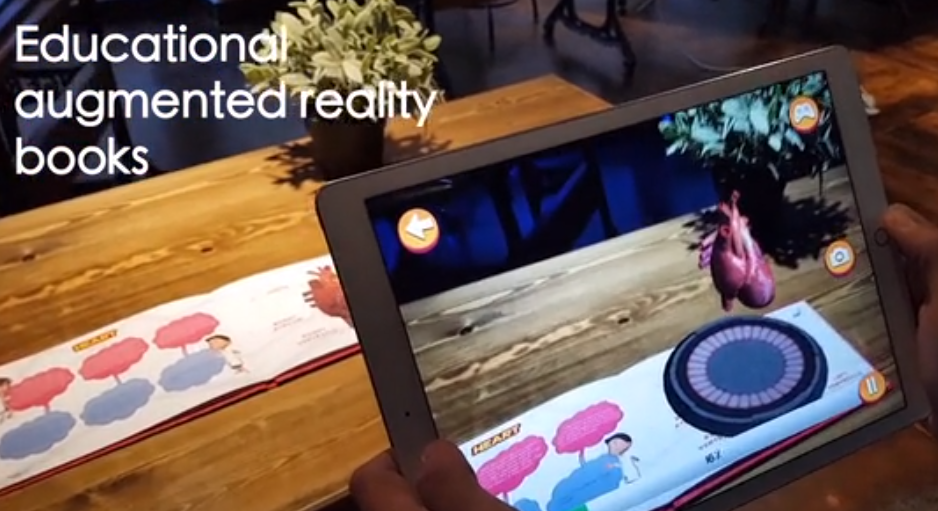 Augmented-Reality-Books